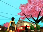 Japanese Castle CJ House and Beautiful Sakura Trees для GTA San Andreas вид сверху
