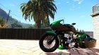 Honda CB750 Bagger 1.0 для GTA 5 вид сверху