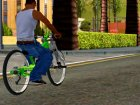NOX Cycles Mountainbike для GTA San Andreas вид изнутри