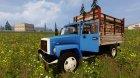 ГАЗ САЗ-35071 для Farming Simulator 2015 вид сзади