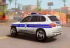 BMW X5 - Croatian Police Car for GTA San Andreas top view