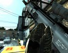 Fn Scar-H с Acog for GTA 4 left view