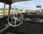 1957 Chevrolet Bel Air Rusty 1.2 for GTA 5 rear-left view
