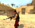 Red Guerilla Reskin for Counter-Strike Source top view