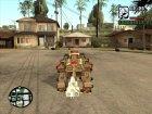 Liger Zero Em (Zoids) for GTA San Andreas side view