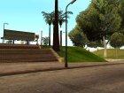 Новые текстуры баскетбольной площадки. for GTA San Andreas side view