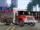 Pierce Commercial SACFD Rescue Unit for GTA San Andreas left view