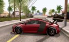 Audi R8 LMS v3.0 for GTA San Andreas left view