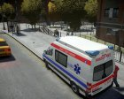 Mercedes-Benz sprinter baku ambulance for GTA 4 rear-left view