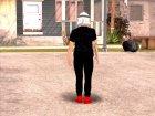 Skin HD GTA V Online в маске Star wars для GTA San Andreas вид сверху