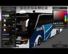 Skin's Setra S517 для Euro Truck Simulator 2 вид слева