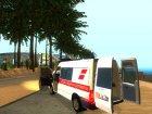 Ford Transit Скорая Помощь города Харьков для GTA San Andreas вид изнутри