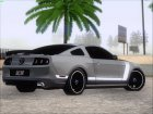 Ford Mustang Boss 302 2013 for GTA San Andreas top view