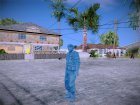 Blue Solider from Army Men Serges Heroes 2 для GTA San Andreas вид сзади слева