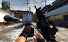 M4A1 Improved for Counter-Strike Source rear-left view