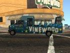 Tour Bus из GTA V для GTA San Andreas вид сверху