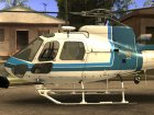 New police helicopter for GTA San Andreas rear-left view