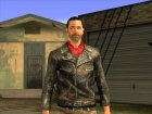 The Walking Dead No Man's Land Negan для GTA San Andreas вид слева