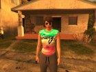 GTA V Online DLC Female 1 для GTA San Andreas вид слева