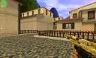 New GOLD Deagle for Counter-Strike 1.6 rear-left view