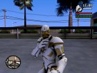 Ironman MK 3 Space GoTG White for GTA San Andreas side view