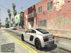 2017 Audi R8 1.1 for GTA 5 side view