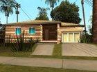 Новые текстуры домов на Гоув Стрит для GTA San Andreas вид слева