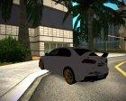 Mitsubishi Lancer Evolution X for GTA San Andreas top view