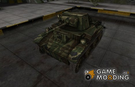 Скин для танка СССР MkVII Tetrarch for World of Tanks