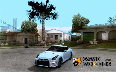 Nissan GTR R35 Tunable v2 для GTA San Andreas