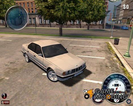 BMW 525 for Mafia: The City of Lost Heaven
