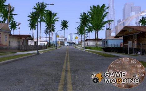 Ржавый спедометр для 555 для GTA San Andreas