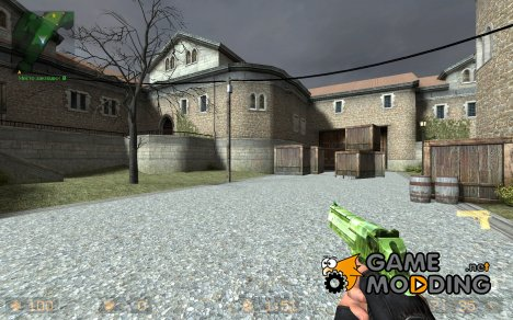 Camo deagle with carbon fiber для Counter-Strike Source