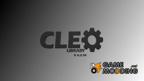 CLEO v4.3.10 for GTA San Andreas