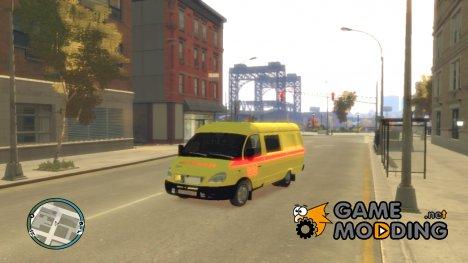 ГАЗель 2705 Реанимация для GTA 4