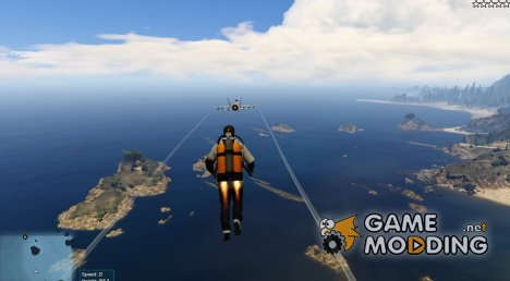 Jetpack Mod for GTA 5