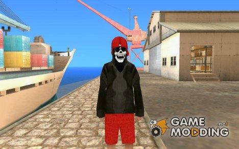 Skin бомжа v1 for GTA San Andreas