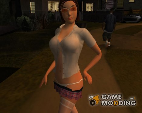 Sexy College Girl for GTA San Andreas