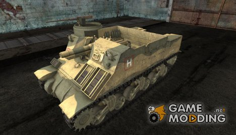M7 Priest от jasta07 для World of Tanks