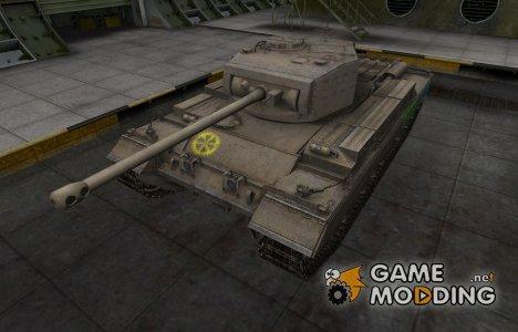 Качественные зоны пробития для Caernarvon для World of Tanks
