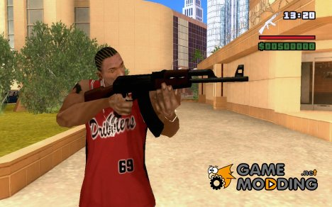 Ak47HD for GTA San Andreas