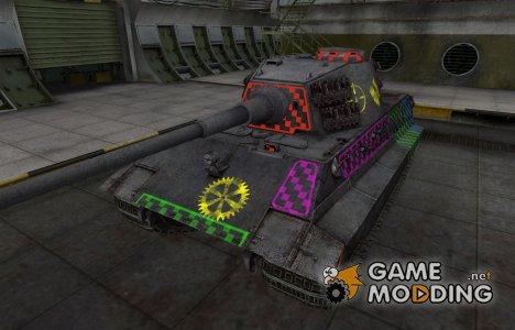 Качественные зоны пробития для E-75 для World of Tanks