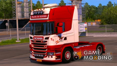 Scania Frank De Ridder for Euro Truck Simulator 2