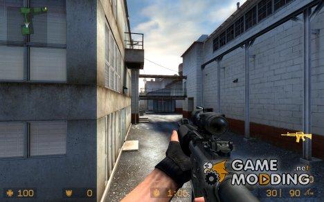 Ultimate M4 v1 *updated* для Counter-Strike Source