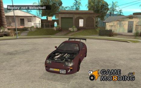 Toyota Supra Drift Edition for GTA San Andreas