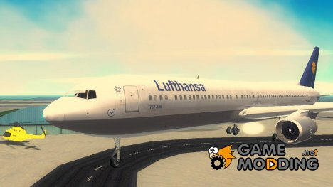 Boeing 767 300 Lufthansa For Gta 3