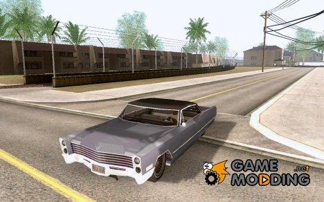 1967 Cadillac DeVille Lowrider for GTA San Andreas