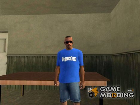 Футболка Olegovish2002 для GTA San Andreas