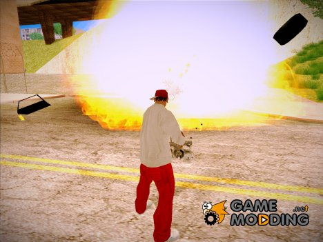 GTA V to SA: Realistic Effects v2.0 для GTA San Andreas