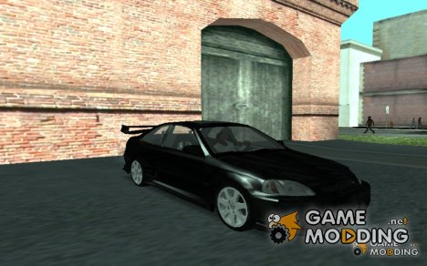 Honda Civic Coupe Fast and Furious for GTA San Andreas